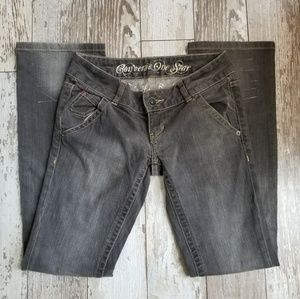 Converse One Star Trinity Boot Cut Jeans